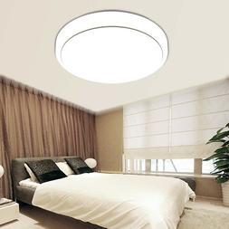 18W Round LED Ceiling Light Fixture Flush Mount Pendant Lamp
