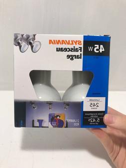 2 SYLVANIA 45-Watt R20 Indoor Flood Lights - Standard Medium