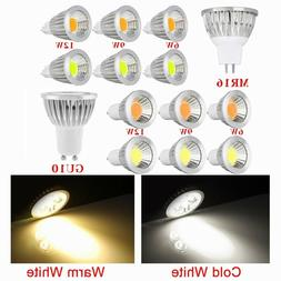 2/5/10x 6W/9W/12W GU10/MR16 COB LED Spotlight Spot Light Dow