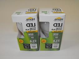 2 Home Luminaire 60W Equivalent 9W LED Light Bulbs Watt 800