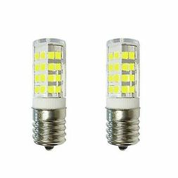 2-Bulbs Anyray Replacement for GE WB36X10003 40W Microwave L