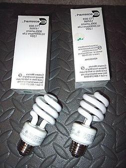 2 Ecosmart Light Bulbs 14 Equal to 60 Watt 900 Lumens 10,000