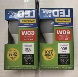 LED 9W  3000K Warm White 800 Lumens Indoor Outdoor Light Bu