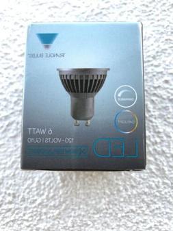 Triangle Bulbs 2-PACK LED GU10 6-Watt, Dimmable, 50W Equival