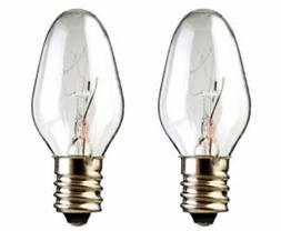2-Pack Light Bulbs 15W for Scentsy Plug-In Warmer wax diffus