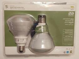 Ecosmart 2 Pack Soft White R30 Flood Light Bulbs, 65W Equiva