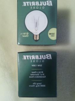 2- replacement 25 watt Light Bulbs Fits Full Size Scentsy Wa