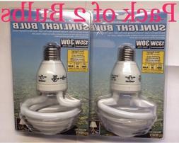 2 x 135W 6500K Daylight Light bulbs - sunlight CFL lightbulb
