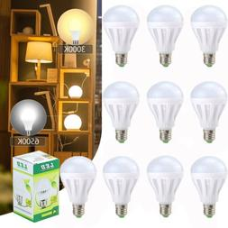 10 Pack- LED 100 Watt Equivalent E27 12W LED Globe Bulb Ligh