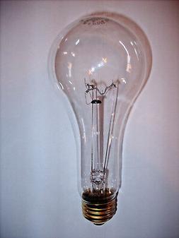 200watt Clear Rough Service, 10k hour, Incandescent Bulbs