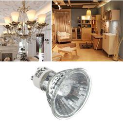 20W 35W 50W GU10 Bright Warm White Halogen Lamp Light For Ho
