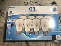 24 Bulbs 3x 8-Pack GE 9W LED Light Bulbs 60w Watt Daylight W