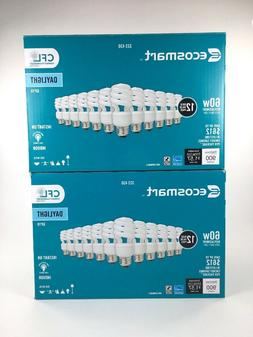 24 Ecosmart CFL Compact Fluorescent Light Bulbs 13w = 60w Da