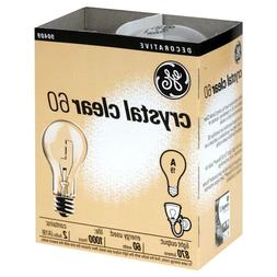 20- NEW GE 97490-24 60-Watt Crystal Clear Incandescent A19 L