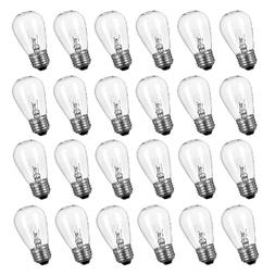 24 Pack Replacement Light Bulbs for Outdoor String Lights 11