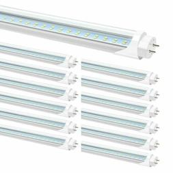 25 Pack 28W 4FT LED Tube Light Bulbs Bi-Pin G13 6000K 3200LM