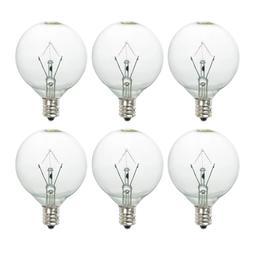 25 Watt Wax Melt Warmer Light Bulb,25WLITE Replacement for A