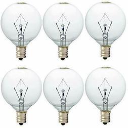 25 Watt Wax Warmer Bulbs for Full Size Scentsy Warmer 6 Pack