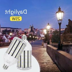 25W LED Corn Light Bulb E26 2500Lm 6500K Daylight 200 Watt E