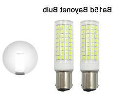 2pcs Ba15d Bayonet Base Led Bulb 102-2835SMD LED 9W 110V Cer