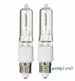 2pcs E11 Halogen Mini Candelabra 100W 100watts Light Lightin
