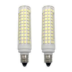 2pcs E11 LED bulb 10W 110V 136 Led Ceramics Ceiling fan Ligh