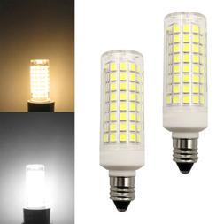 2pcs E11 LED Light Bulb 102-2835 Ceramics Ceiling Fans Light