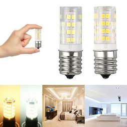 1/2PCS E17 LED Bulb Microwave Oven Light Dimmable 4W Natural