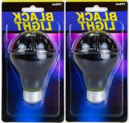 2X 75 Watt Black Light  Bulbs