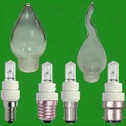 10x G9 Dimmable Replaceable Halogen Light bulb, Adaptor Base