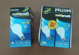 3 Philips 50/100/150 3-Way DuraMax Incandescent Light Bulbs
