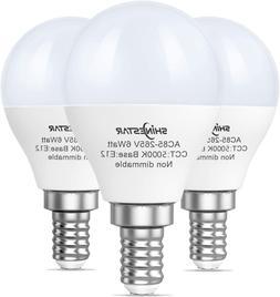 3-Pack Ceiling Fan Light Bulbs 60watt Equivalent, 5000K Dayl