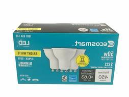 3 PK EcoSmart 50-Watt Equivalent MR16 GU10 Dimmable LED Ligh