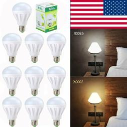 20 Pack LED 3W 9W Daylight Soft White 30W/75W Watt Equivalen