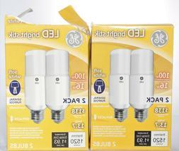GE 32304 Bright Stik Tubular LED Bulb, Soft White 2850K, 16W
