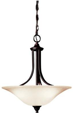 Kichler 3502 Pendants Dover Indoor Lighting; Tannery Bronze