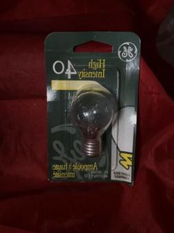 GE Lighting 35156 40-Watt High Intensity Light S11 1CD Light