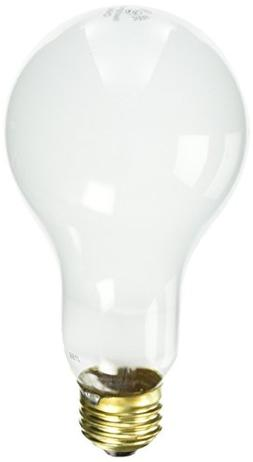 Westinghouse 3696000, 200 Watt, 130 Volt Frosted Incand A23