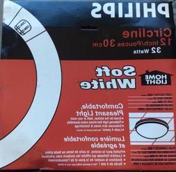 Philips 391227 Circline Fluorescent 32-Watt 12-Inch T9 Soft