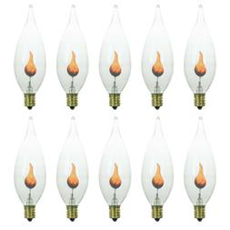Sunlite 3CFC/FK Incandescent 3-Watt, Candelabra Based, Chand