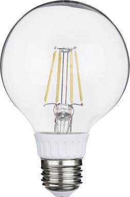 3Pack LED Globe Light Bulbs 5.5W 120 V Replaces 60W 630 Lume