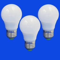 3pcs E27 LED Light 12-24V 3W Globe RV/Boat/Solar Bulb Lamp E