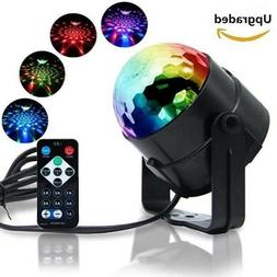 3W RGB Magic Rotating Ball Effect LED Stage Lights KTV Party