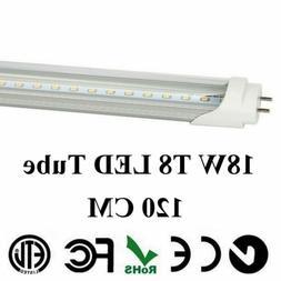 """4-100 Pack LED G13 T8 4FT 48"""" Inch Tube Light Lamp 120cm 18W"""
