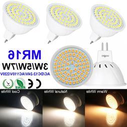 4/6/10 Pack 3W 5W 7W MR16 LED Light Bulb GU5.3 Bi-Pin Spotli