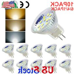 4/6/10 PACK LED MR11 Light Bulbs 30W-50W Halogen Replacement