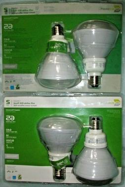 4 Ecosmart CFL 65 Watt Soft White R30 Flood Lights, Actual U