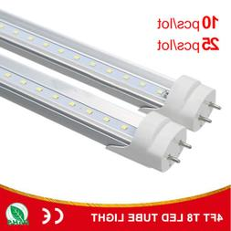 4 Foot T8 LED Tube Fluorescent Replacement Bulbs 48 Inch 400