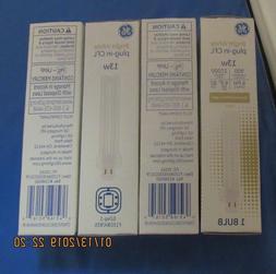 GE 97612 F13DBX/835/ECOLTP 4 pin CFL bulbs Bright White NEW
