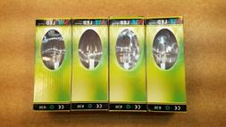 4 LED CHANDELIER FLAME LIGHT BULBS, DIMMABLE, AC110V, 60/60H